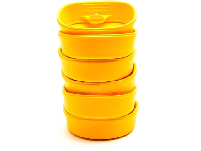 Wildo Fold-A-Cup Set Unicolor 6x Lemon